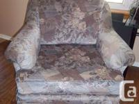 Sofa love seat and chair for sale. Good condition.