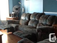 Available for sale sofa and love seat both with