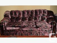A complete living room set! Includes: sofa, loveseat,
