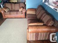 REQUIREMENT MARKET! COUCH AND ALSO LOVE SEAT = $150. -
