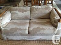 Canadian made by Flexsteel sofa and matching loveseat,