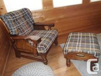 Three item matching couch collection, includes chair,