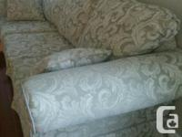 Selling 2 sofas and 1 loveseat. Prices are per item