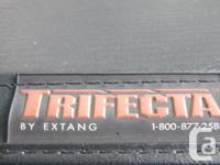 Black Extang tri-fold (Trifecta) soft tunnel cover.