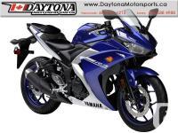 * SOLD * 2017 Yamaha YZF-R3 Sport Bike * BRAND NEW