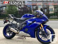 * SOLD * 2017 Yamaha YZF-R6 ABS Sport Bike * A rare