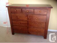 Grandma's Treasures solid maple bedroom set from