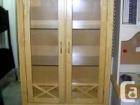 """Solid Wood Construction 37""""w x 18""""d x 72""""h SIDNEY BUY &"""