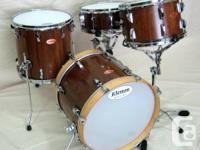 Solid Black Walnut bop kit. Made from American Black