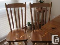 6 Pine Arrowback Chairs. Excellent condition. Need