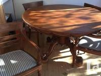 We have a beautiful Indonesian solid Teak Dining Table
