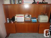 Solid Wall Cabinet $125.00.   4 drawers, 2 sliding