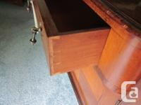 Sideboard/buffet with bevelled mirror. Amazing original