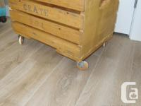 Great for storage anywhere in the house solid wood
