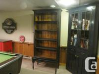 New Solid Pine cabinet/display closet/ customized