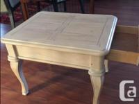 In Good condition. Sturdy with drawer. Measurements:
