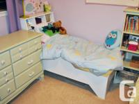 """""""Firefly"""" Toddler Bed Handcrafted, solid wood with a"""