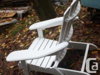 Here is that solid wooden airondeck chair nicely