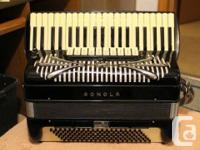 SONOLA  SS15  ACCORDION-$3500 SANO STEREO60-$3500  2