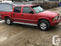 Make GMC Model Sonoma Year 2002 Colour red kms 134000