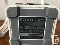 Like new, no scuffs or scratches. The Sonos Bridge: -