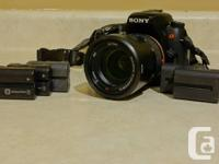 Up for sale is a Sony 16mp A580 in superb problem