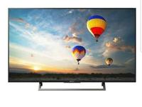 4K ultra HDR TV with Android OS in mint condition.