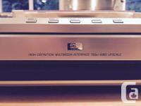 Sony DVD/CD 5 disc player HD. Model # DVP-NC85H. Comes