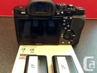 Sony a7 full-frame camera body -original a7 body with