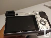 For sale is a Sony A6300 mirrorless camera in excellent