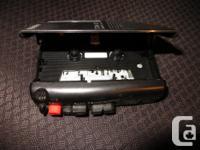 SONY TCM-323 Cassette recorder regular size cassettes