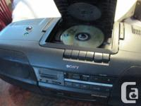 Was $90. Sony CFD-350 Portable radio (Ghetto Blaster)