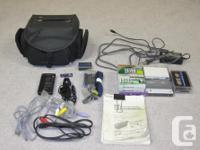 Sony TRV350 model, video camera recorder, works good