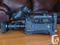 Professional Sony DSR 300 dvcam camera , shotgun mic