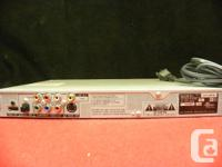 Sony DVD/CD player with remote, model # DVP-NS75H, item