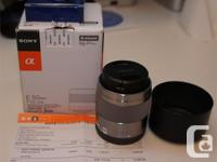 Nr.1 Bestselling E Sony lens at Amazon.com Designed to