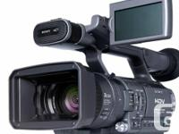 Sony HDR-FX1 3-CCD HDV High Meaning Video camera with
