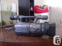 Sony HDR FX7 for sale. Used but barely used, works like