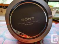 Pretty good Sony cans. Still sound very good. Over-ear