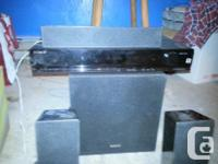Sony Home Theatre system I originally bought for 300$