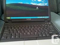 Design # VGN-BX640.  Sony business line laptop computer