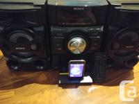 Mint condition Sony MHC-E69i With remote control And