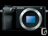 Selling my mint Sony NEX 6 Camera body only. Camera is