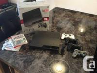 *** AVAILABLE ***.  320GB SONY PLAYSTATION 3 SLIM