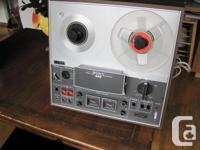 Sony three head stereo tape recorder 70's vintage.