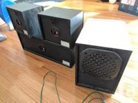 For sale are 2 Sony Surround speakers, SS-SR9, 1 Sony