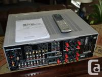 Sony STR-DA2100ES Stereo AM/FM Receiver. Connect up to