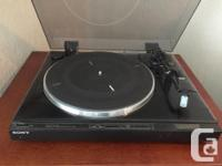 Classic Sony stereo, works perfectly, 4 speakers,