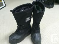 Virtually New Guys's Sorel Wintertime Boots. Protected