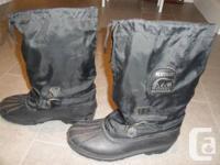 SOREL Blizzard men's boots.  Very good condition.